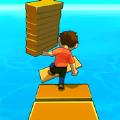 用木板搭桥