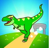 恐龙合并赛车