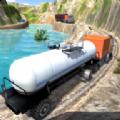 旋转山地石油大卡车