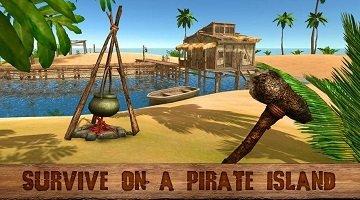孤岛上的生存游戏