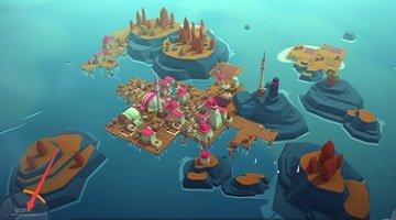 在島上建造房子有海島的游戲