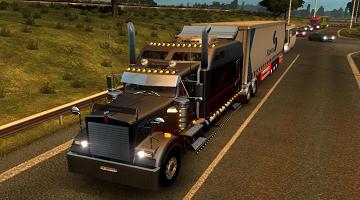 大型卡车驾驶手机游戏